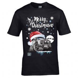 Premium Koolart Christmas Santa Hat Design & Defender Twisted car gift mens t-shirt top